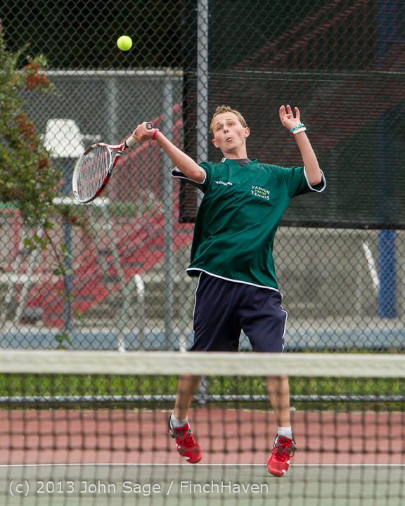 5744 Boys Tennis v CWA 101613