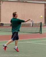 5837 Boys Tennis v CWA 101613