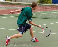 5845 Boys Tennis v CWA 101613