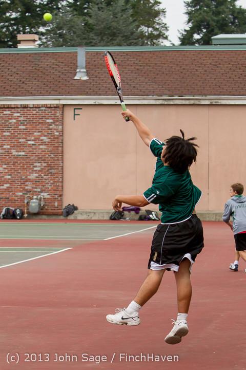 6086 Boys Tennis v CWA 101613