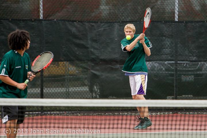 6091 Boys Tennis v CWA 101613