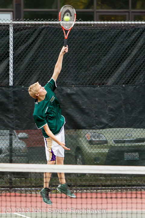 6101 Boys Tennis v CWA 101613