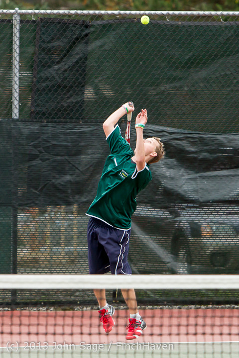 6164 Boys Tennis v CWA 101613