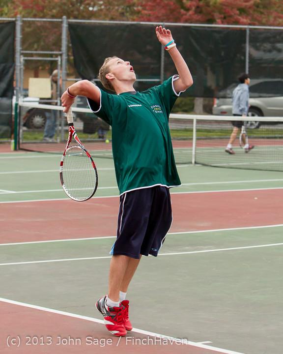 6316 Boys Tennis v CWA 101613