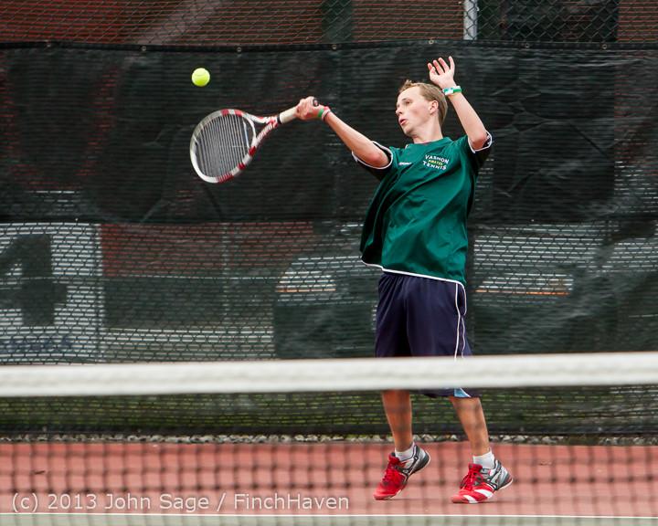 6395 Boys Tennis v CWA 101613