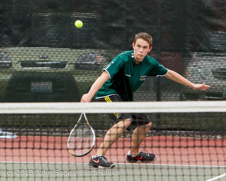 6412 Boys Tennis v CWA 101613