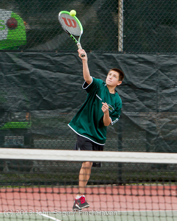 6574 Boys Tennis v CWA 101613