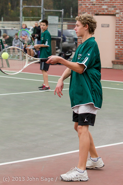 6604 Boys Tennis v CWA 101613