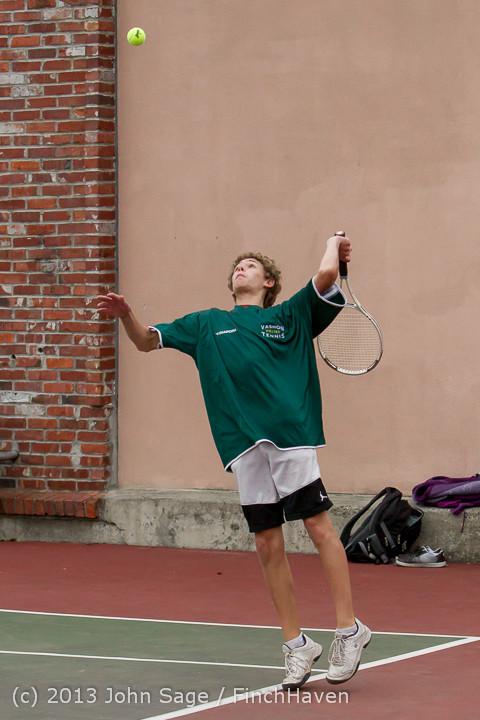 6616 Boys Tennis v CWA 101613