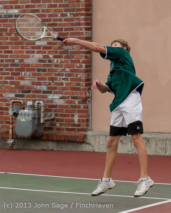 6618 Boys Tennis v CWA 101613