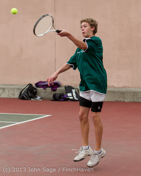 6641 Boys Tennis v CWA 101613