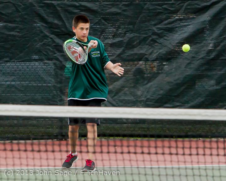 6684 Boys Tennis v CWA 101613