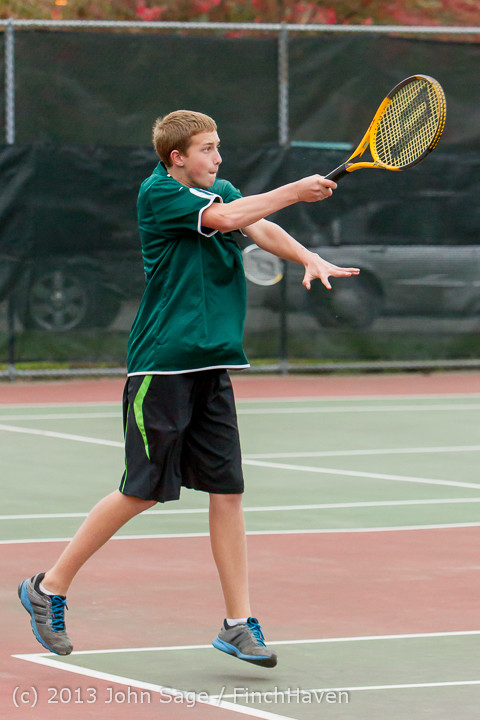 6704 Boys Tennis v CWA 101613