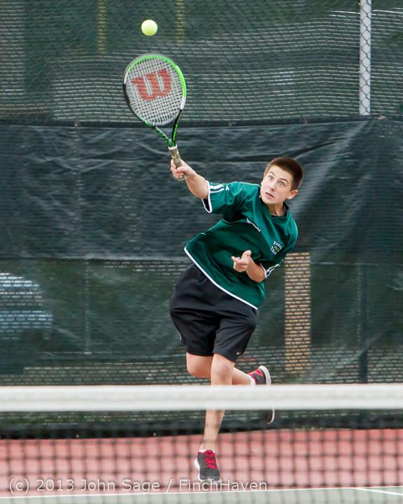 6742 Boys Tennis v CWA 101613