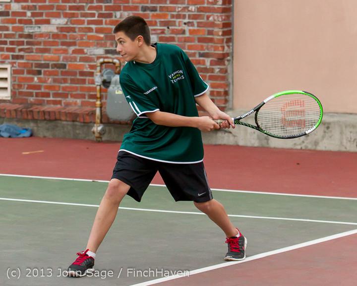 6768 Boys Tennis v CWA 101613
