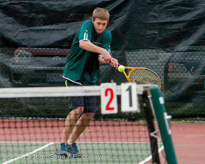 6806 Boys Tennis v CWA 101613