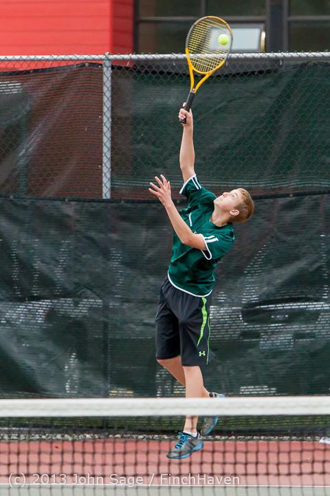 6811 Boys Tennis v CWA 101613