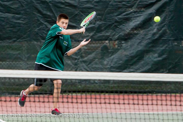 6861 Boys Tennis v CWA 101613