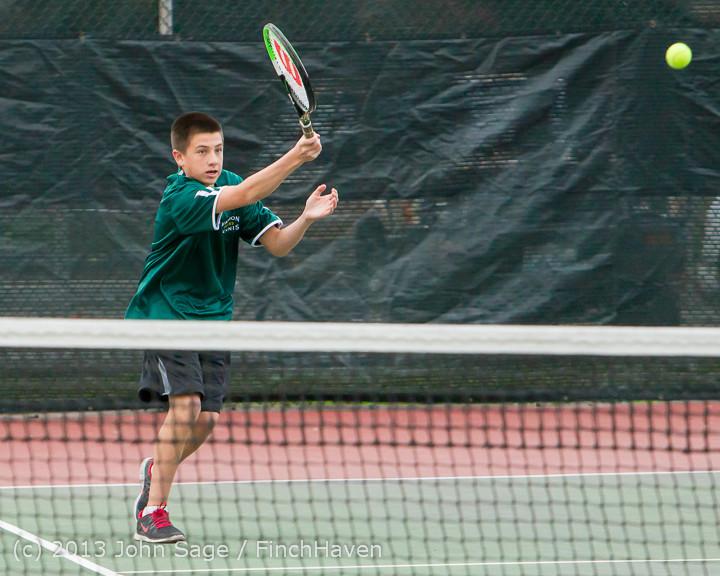 6877 Boys Tennis v CWA 101613