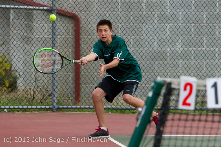 6922 Boys Tennis v CWA 101613