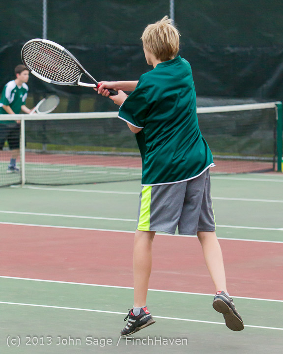 6947 Boys Tennis v CWA 101613