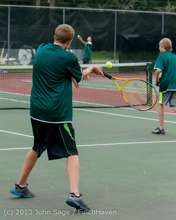 6959 Boys Tennis v CWA 101613