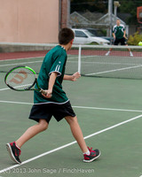 7011 Boys Tennis v CWA 101613
