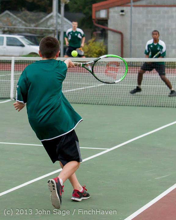 7015 Boys Tennis v CWA 101613