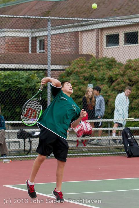 7038 Boys Tennis v CWA 101613