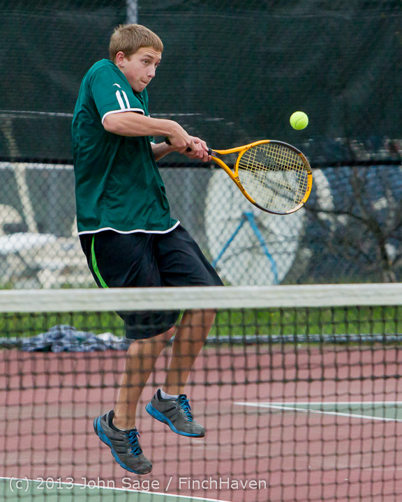 7073 Boys Tennis v CWA 101613