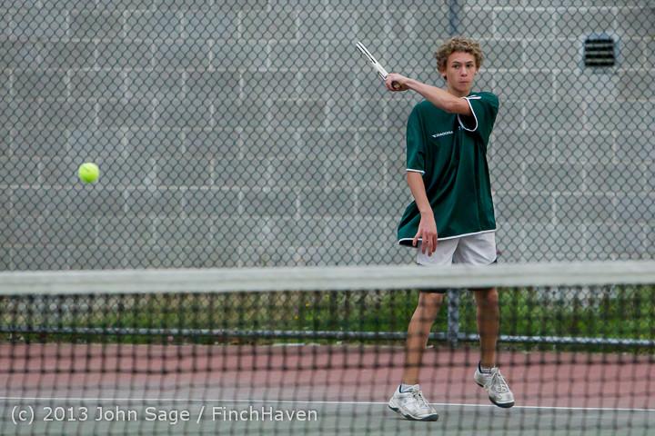7107 Boys Tennis v CWA 101613