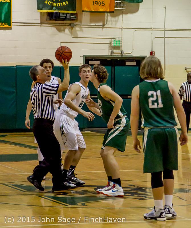 17362 Boys Varsity Basketball v Klahowya 120915