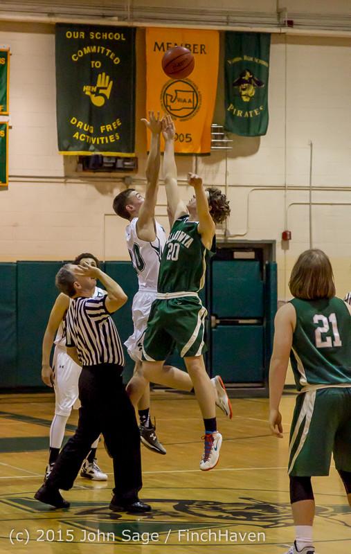 17366 Boys Varsity Basketball v Klahowya 120915