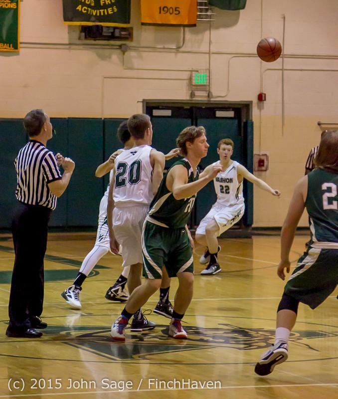 17372 Boys Varsity Basketball v Klahowya 120915