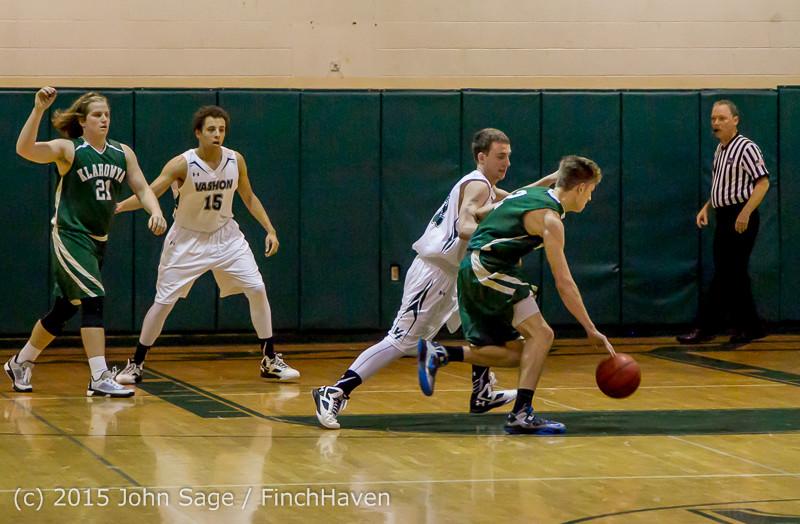 17412 Boys Varsity Basketball v Klahowya 120915