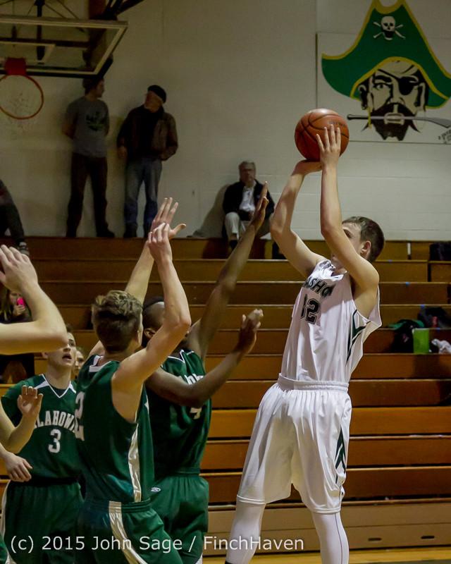 17653 Boys Varsity Basketball v Klahowya 120915