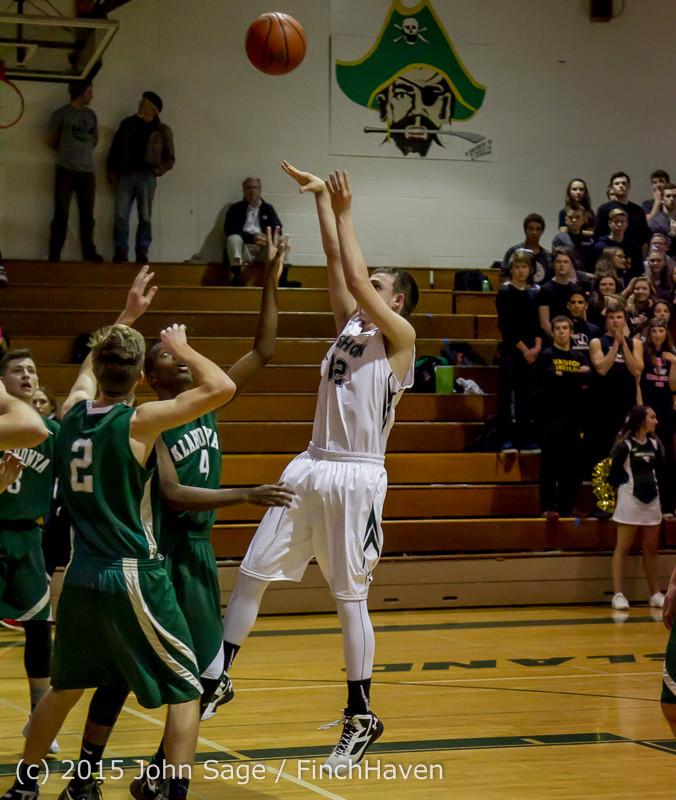 17654 Boys Varsity Basketball v Klahowya 120915