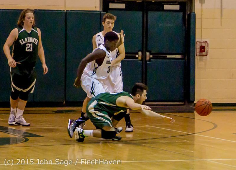 17923 Boys Varsity Basketball v Klahowya 120915