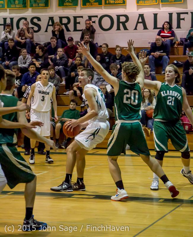 18091 Boys Varsity Basketball v Klahowya 120915