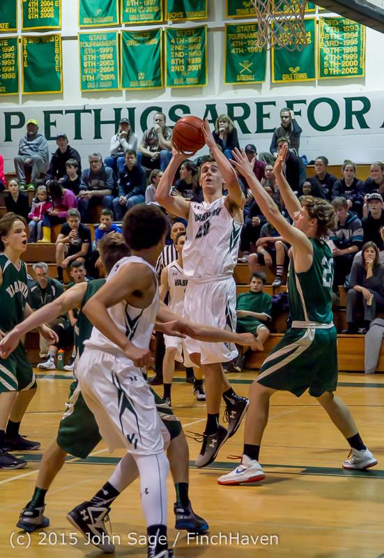 18093 Boys Varsity Basketball v Klahowya 120915