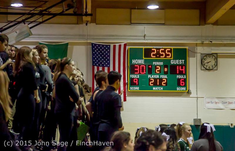 18255 Boys Varsity Basketball v Klahowya 120915