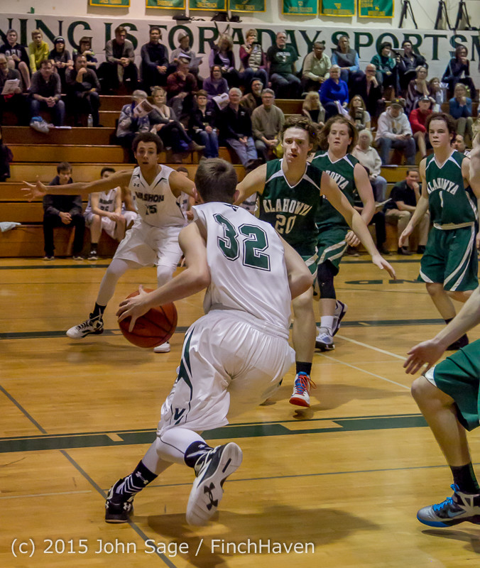 18535 Boys Varsity Basketball v Klahowya 120915