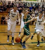 18553 Boys Varsity Basketball v Klahowya 120915