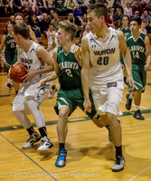 18556 Boys Varsity Basketball v Klahowya 120915