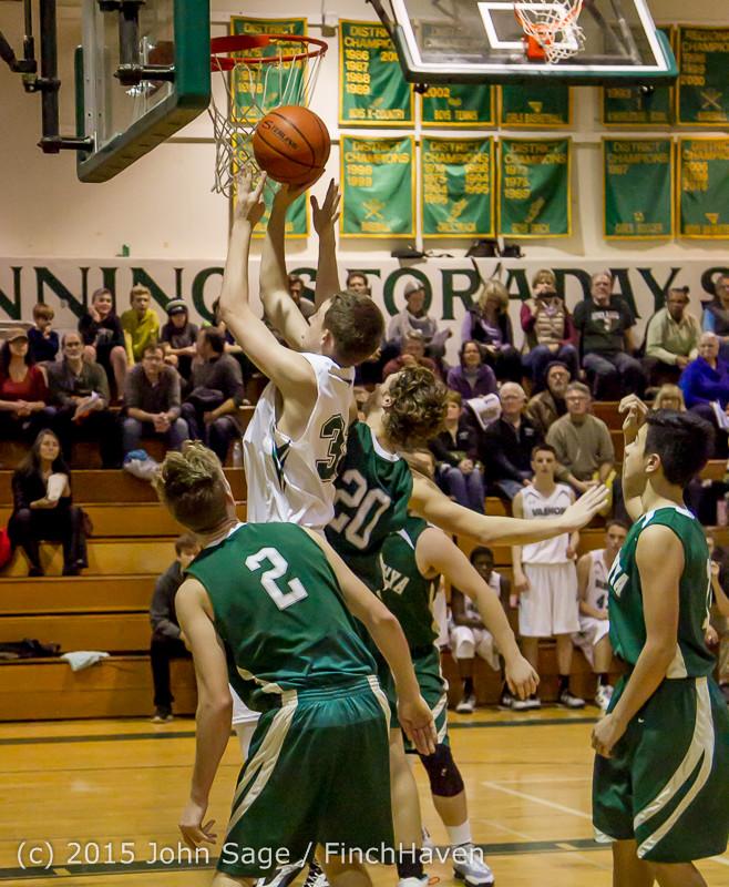 18560 Boys Varsity Basketball v Klahowya 120915