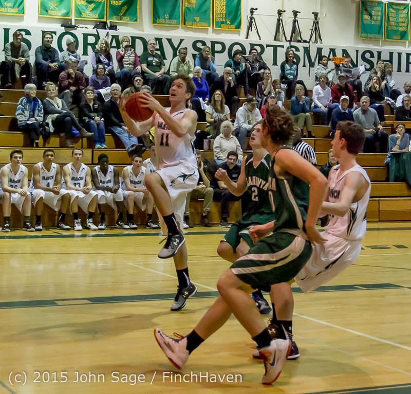 18600 Boys Varsity Basketball v Klahowya 120915