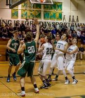 18611 Boys Varsity Basketball v Klahowya 120915