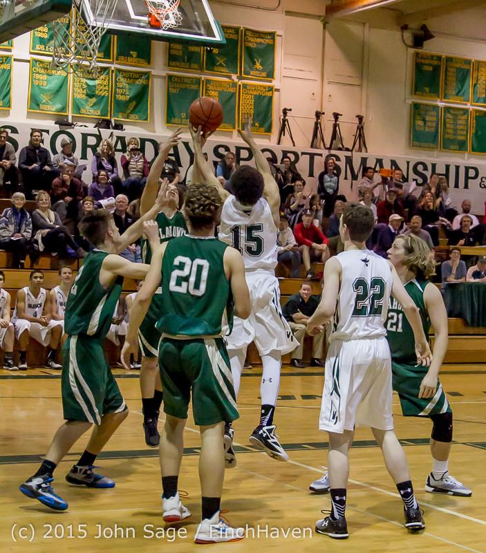 18634 Boys Varsity Basketball v Klahowya 120915