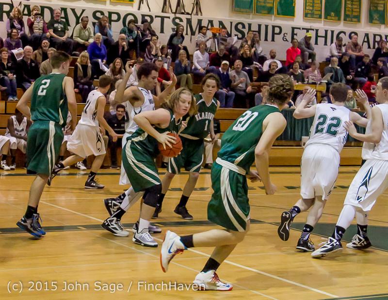 18642 Boys Varsity Basketball v Klahowya 120915