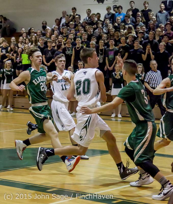 18876 Boys Varsity Basketball v Klahowya 120915